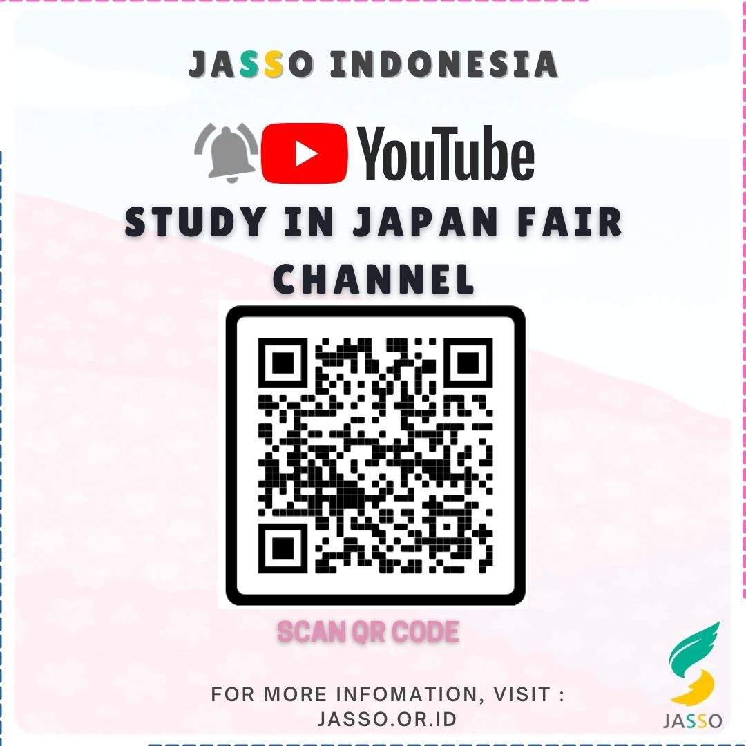 YOUTUBE : Study in Japan Fair Channel